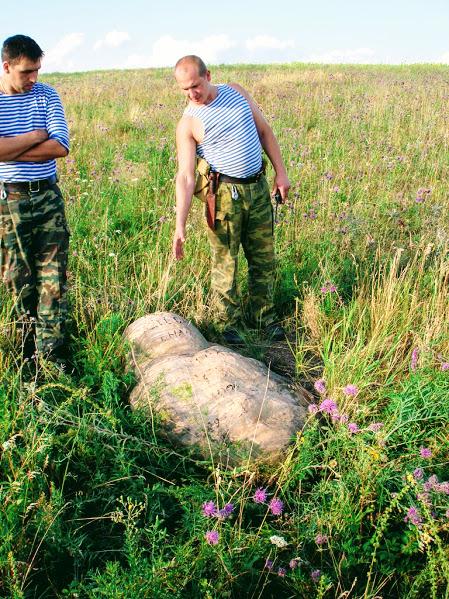 Каменные болваны Самарской Луки