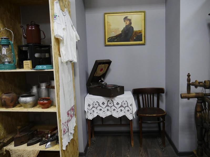 Музей быт страны Советов патефон и неизвестная