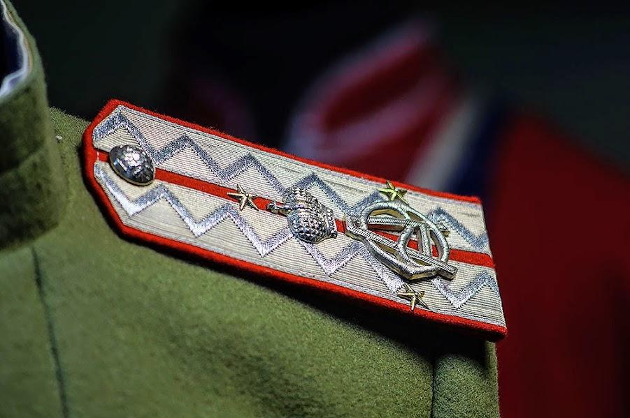Погон офицера 5-го гусарского Александрийского полка