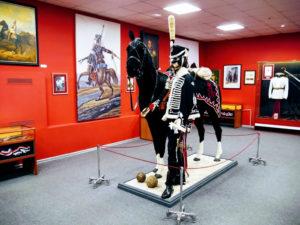 Экспозиция музея 5-го гусарского александрийского полка