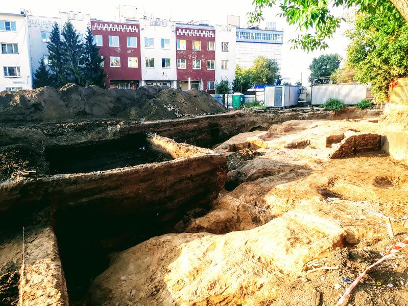 Новая археологическая достопримечательность город Самара