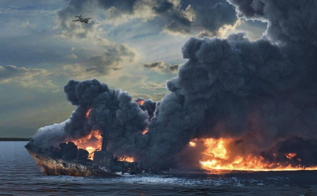 Волга в огне в Тупичке Гоблина