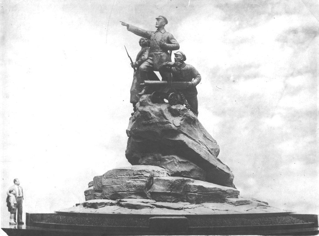 Проект памятника Щорсу в Куйбышеве