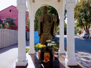 Скульптура Николаю Чудотворцу